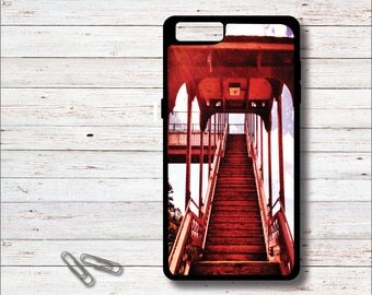 Stairs, Train Station, Phone Case, Vintage, Train Photography, iPhone Case, Galaxy Case, Gift for Him, Gift for Dad, Cell Phone Case