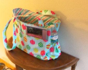 Reversible Tote Bag- HolidayFabric