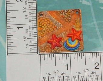 Square Starfish Pendant