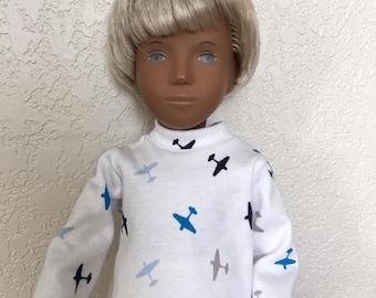 Choice of Long Sleeved T Shirt for Sasha or Gregor Doll