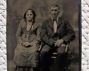 Tintype The Golden Years Couple
