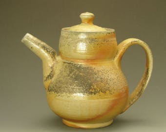 Teapot, woodfired