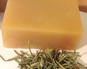 100% Natural Anti~Fungal Tamanu Nut oil--Herbal Therapy HAIR & BODY Soap Bar