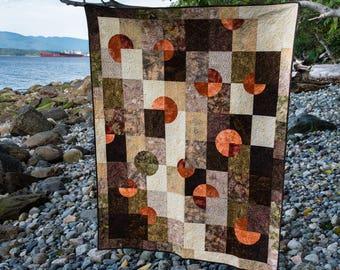 Desert Sun Quilt Pattern - Modern quilt pattern, Contemporary quilt pattern