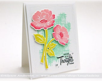 Thinking of You Greeting Card - ToY 020