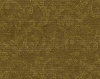 978-60160 Silk and Satin Scroll Wallpaper