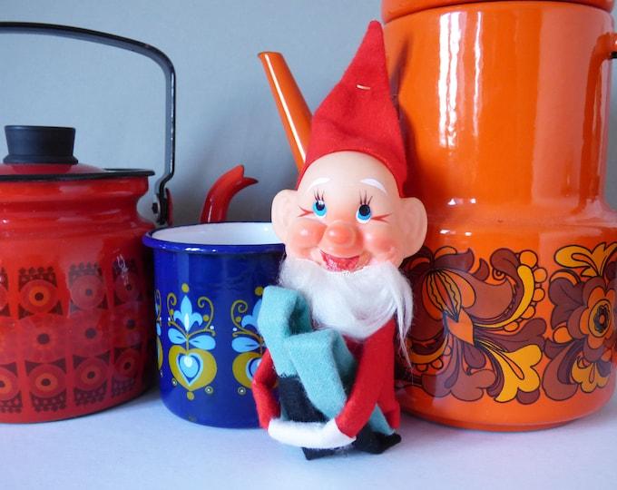 Elf Christmas Decoration  Pixie Gnome Vintage