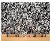 FALL SALE Zebra stripes wall art print: Stripes