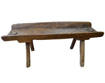 ON SALE Coffee Table/Side Table from Trough Used as Salt Lick for Deer and Cows