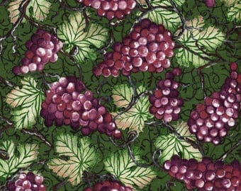 Purple Grapes from Wine Country - South Seas Imports - 1 Short Yard