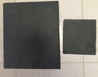 7 x 9 BLANK Slate, roofing slate Sign paintable surface hanging slate, decorative painting surface, roof repair slate, new roofing slates