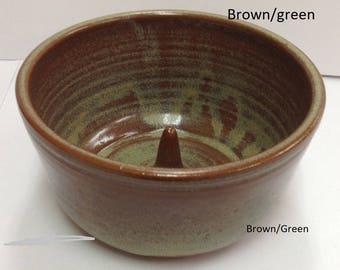 Apple Baker, Handmade Pottery, Free Shipping, Ceramic Apple baker for oven or Microwave