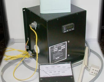 USED Programmable Kiln Controller, Pyrometer, Thermocouples DESTASH