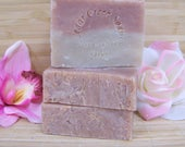SOAP Cherry Almond Soap Cherry Almond Cold Processed Soap All Natural Soap