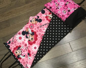 Kindermat Napmat Cover - Minnie Mouse Pink