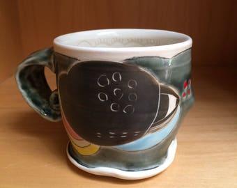 Black Cloud mug