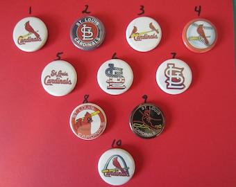 St. Louis Cardinals Pins, Cardinal Pins, Cardinal Magnets, St. Louis Cardinals,  Baseball Pins, St. Louis Cardinal Magnets