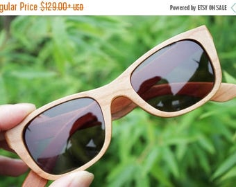 20% off SUMMER SALE Can be customized American Cherry Wood Walker Handmade Wooden Takemoto Brown prescription RX Sunglasses