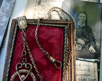Antique Watch Chain, offered by RusticGypsyCreations