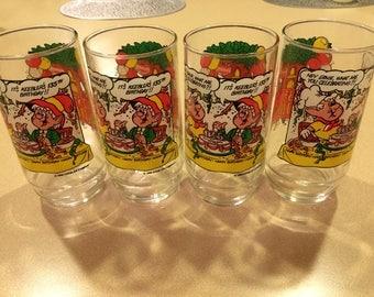 Set of 4 Keebler Glasses
