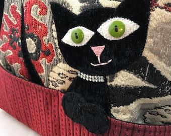 Cat Purse, Vet Tech Gift