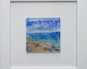 Seascape Glass Painting 1