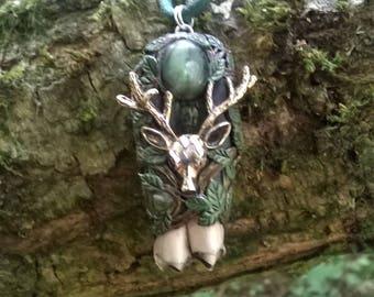 Woodland Guardian - Cernunnos Amulet