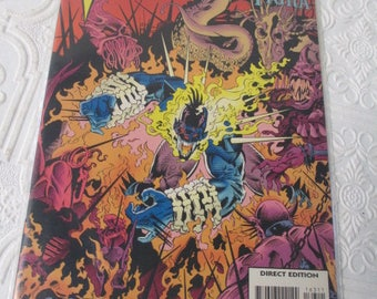 Vengeance MACE New Warriors TIGRA #163 (MARVEL Comics Presents) Vintage 1994 Comic Book