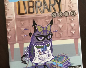 SMELLS LIKE LIBRARY collected comics vol.3