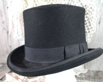 Vintage Black Top Hat