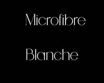 MIcrofibre Blanche