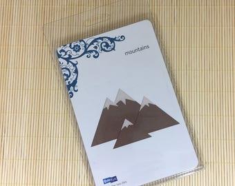 DESTASH - Quickutz Mountain Die Cut (New in Package)