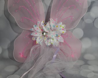 Pink Fairy Wings, Girls Fairy Wings, Butterfly Wings, Children's Pixie Wings, Pink Wings, Play Wings, Lavender, FW1723