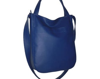 navy blue crossbody bag, navy blue leather crossbody bag, navy blue leather hobo bag, leather crossbody bag navy blue, leather hobo bag navy