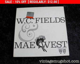 August Vinyl Blow Out 10% Off Already Low Prices W.C. FIELDS + Mae West LP  Vinyl  Record  Album Clean Procenium Gatefold Cover