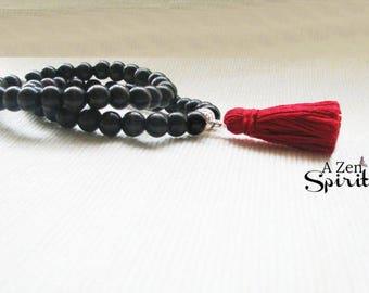 Wrist Mala, Meditation Bracelets, Bohemian Style, Focus Jewelry, Yoga, Boho Bracelet Stack