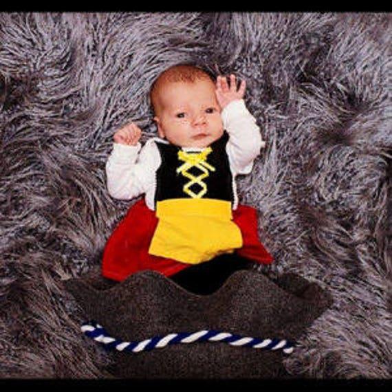 Newborn Germany theme baby dirndl