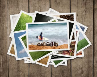 Manly Beach POSTCARD Set. Northern Beaches Postcards, Manly Surfing, NSW Australia, Freshwater Lifeguard Surfboard, Postcards, PostCrossing