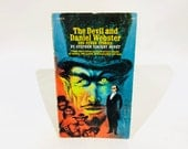 Vintage Classics Book The Devil and Daniel Webster and Other Stories  by Stephen Vincent Benet 1969 Paperback Anthology