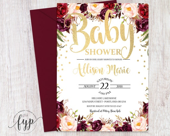 Boho baby shower invitation bohemian baby shower invite girl baby il570xn filmwisefo