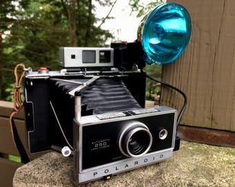 Vintage Polaroid 250 Land Camera Complete