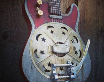 Kochel Guitars Tele Resonator with Bigsby