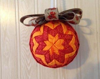 "Fabric Ornament--""Autumn Fire"""