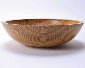 Locust Wooden Bowl #1669