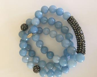 Triple stack bracelet set