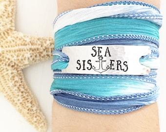 Sea Sisters, Sea Jewelry, Sea Sisters Jewelry, Anchor Jewelry, Anchor Bracelet, Nautical Jewelry