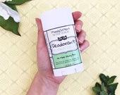 Baking Soda Free Vegan Organic Natural Mint Deodorant -- Bake Soda Aluminum Free Deodorant - Spearmint Vanilla Organic Deodorant