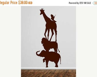 20% OFF Animal stack-Vinyl Lettering  animal Decal wall words graphics Home decor bedroom  itswritteninvinyl