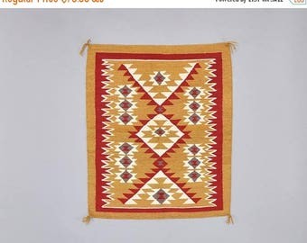 SUMMER SALE Mexican Zapotec Rug