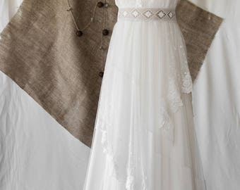 Bohemian wedding - country Rayfi - 2 months delivery gown